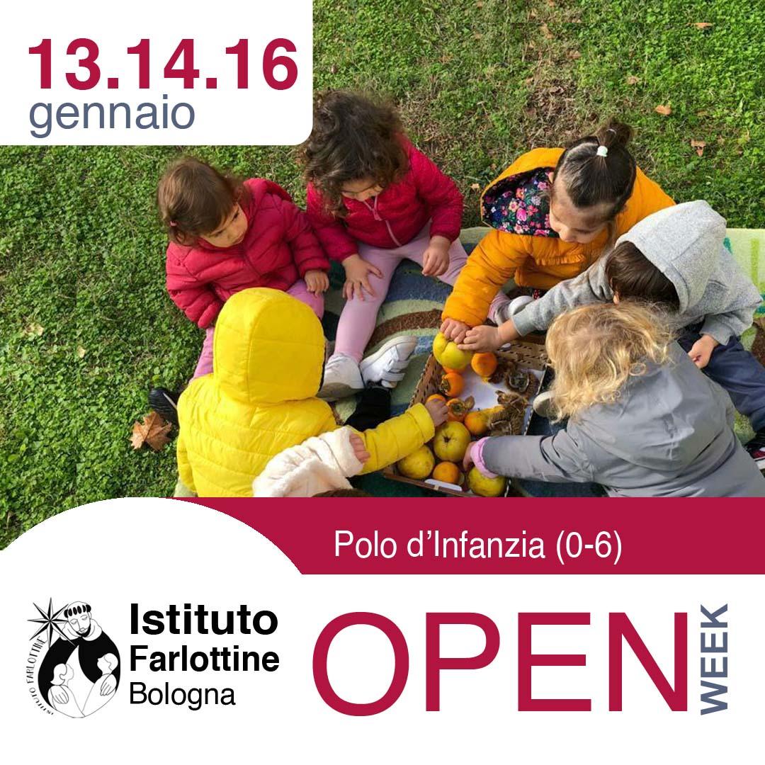 gennaio 13 14 16 Polo Infanzia Open Week