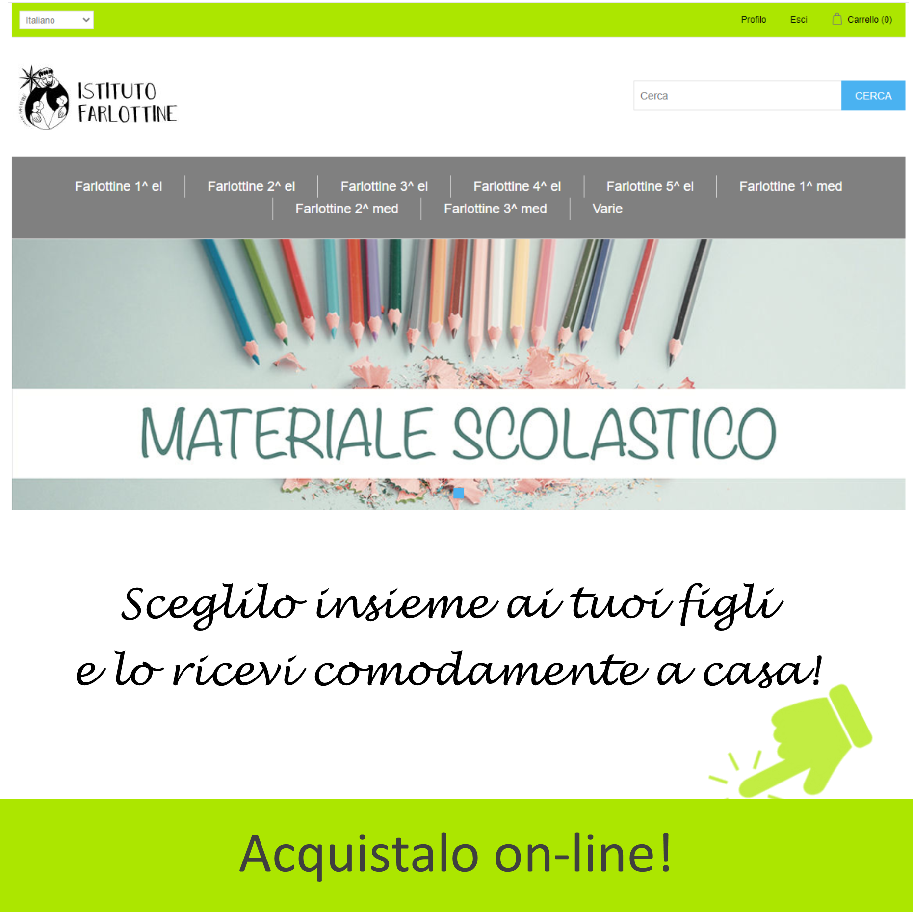 materiale on-line